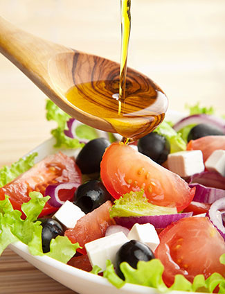 Салаты с маслом растительным с фото